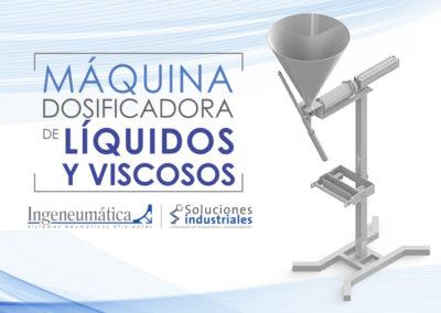 Máquina dosificadora de líquidos y viscosos